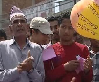 Oslavy v Nepálu