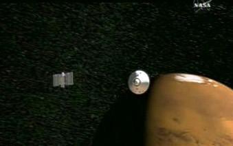 Sonda mířící k Marsu