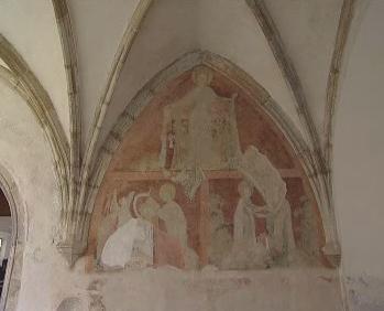 Unikátní freska v Českobudějovickém klášteře