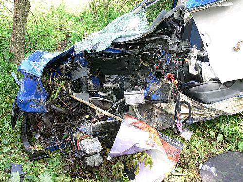Nehoda Škody Fabia