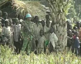 Pracovník mírových sborů OSN