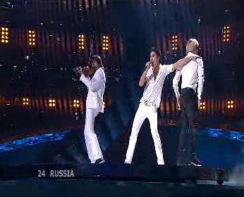 Vítěz Eurosongu ruský zpěvák Dima Bilan