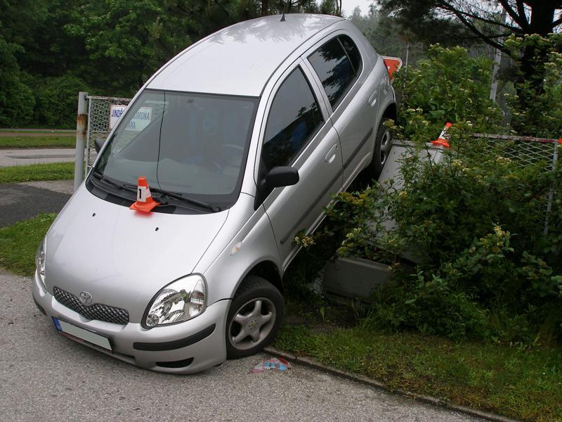 Zaparkované auto