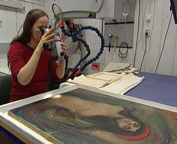 Opravování Munchovy Madony