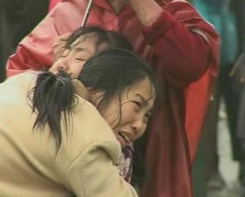 Oběti zemětřesení v Číně