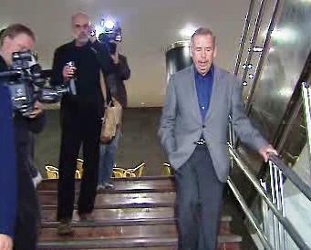 Václav Havel v Divadle Archa