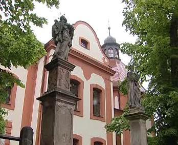 Kostel sv. Jana Křtitele Valeč