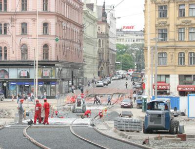 Uzavírka v Brně