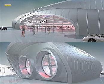 Model letiště