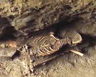 Kosterní pozůstatky nalezené v Telči.