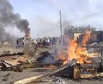 Nepokoje v Jihoafrické republice