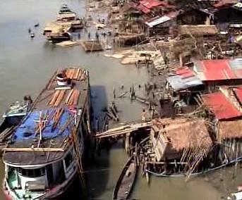 Zdevastovaná Barma