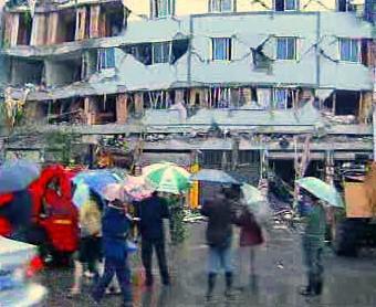 Dům po zemětřesení