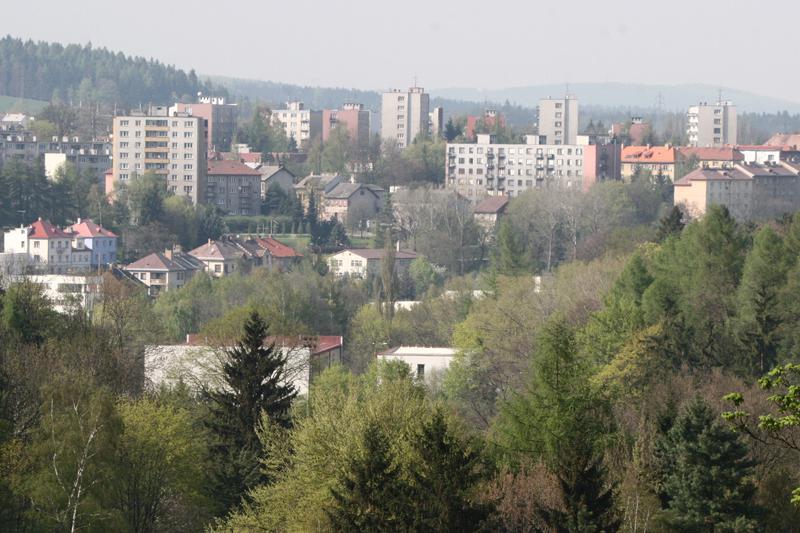 Jihlavské sídliště Březinky