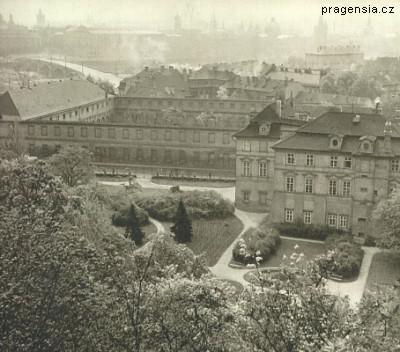 Historická podoba Velké Fürstenberské zahrady