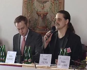 Václav Moravec a Pavel Foltán