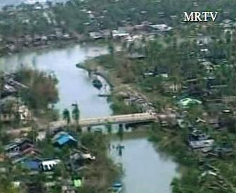 Barmu zpustošil cyklon Nargis.