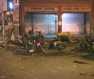 Exploze v indickém Džajpúru