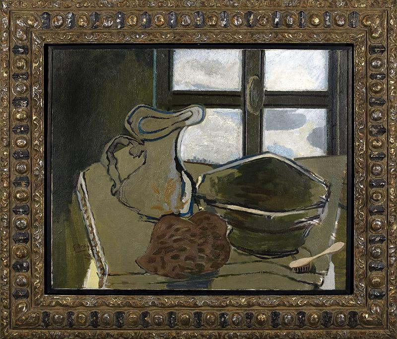 Georges Braque - Zelené umyvadlo