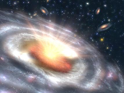 Kvasar - vesmírné těleso s výrazným rudým posuvem spektra