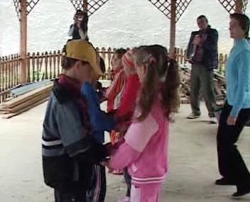 Čeští školáci v Banátu