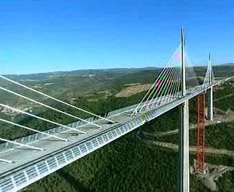 Nejvyšší most na světě Pont de Millau
