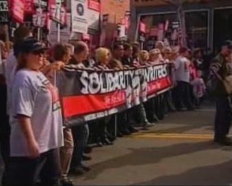 Stávka scénáristů