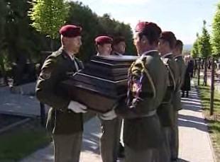Pohřeb padlého vojáka