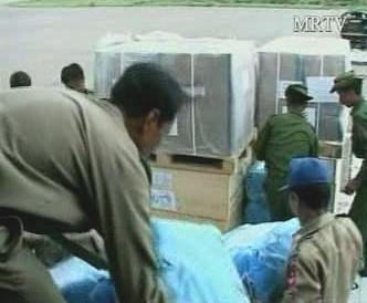 Humanitární pomoc pro Barmu