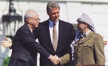 Setkání Arafata, Rabina a Clintona