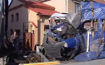 Nehoda autobusu na Lounsku