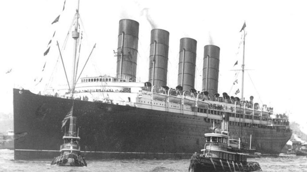 Britský zaoceánský parník RMS Lusitania