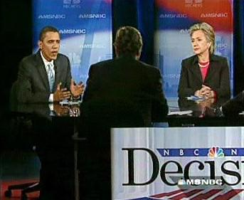 Debata Obama vs. Clintonová