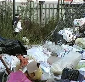 Odpadky v Neapoli