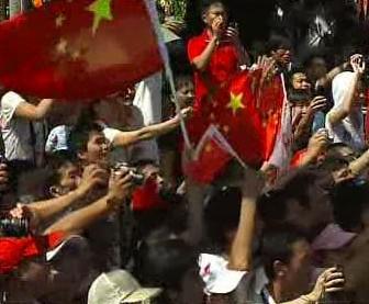 Pochodeň v nejjižnějším místě Číny