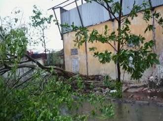 Cyklon v Rangúnu