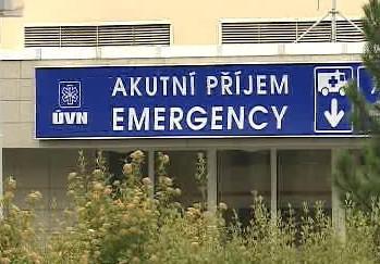Příjem v nemocnici