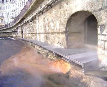 Podzemní prohlídka karlovarského Vřídla