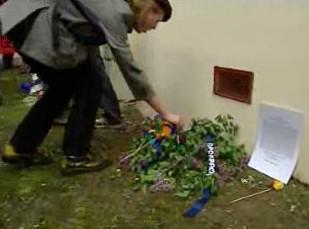 Uctění památky popravených chicagských odborářů