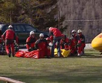 Italští záchranáři