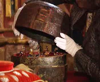 Ochranné pouzdro se Svatováclavskou korunou