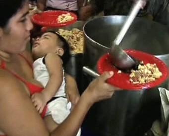 Potravinová pomoc OSN.