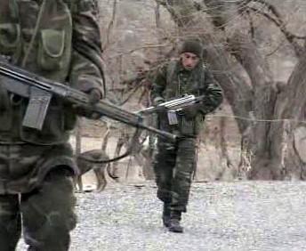 Turečtí vojáci v severním Iráku
