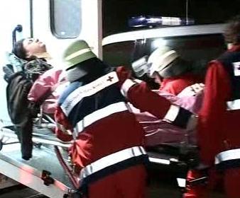Nehoda vlaku v Německu