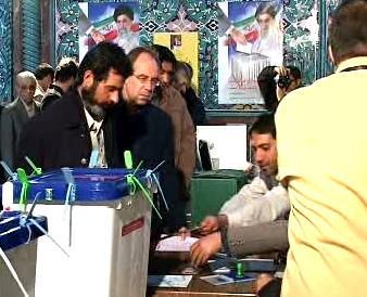 Parlamentní volby v Íránu