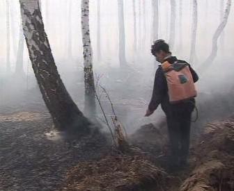 Požár v Rusku
