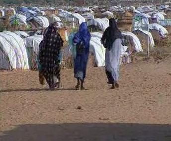 Uprchlický tábor v Čadu
