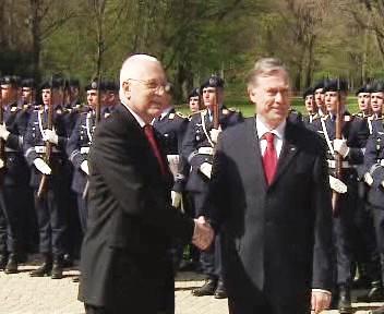 Václav Klaus a Horst Köhler
