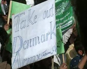 Protesty proti karikaturám Mohameda