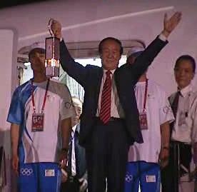 Olympijská pochodeň dorazila do Jakarty